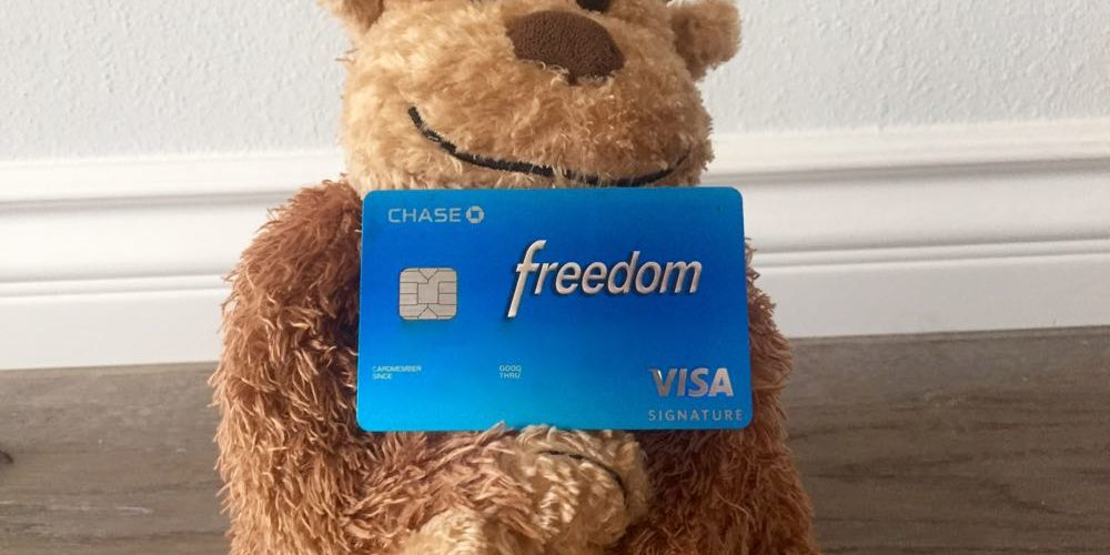 Chase Freedom - 1 of 1