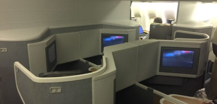 AA Business Class 777-300ER ORD-LAX - 1 of 22