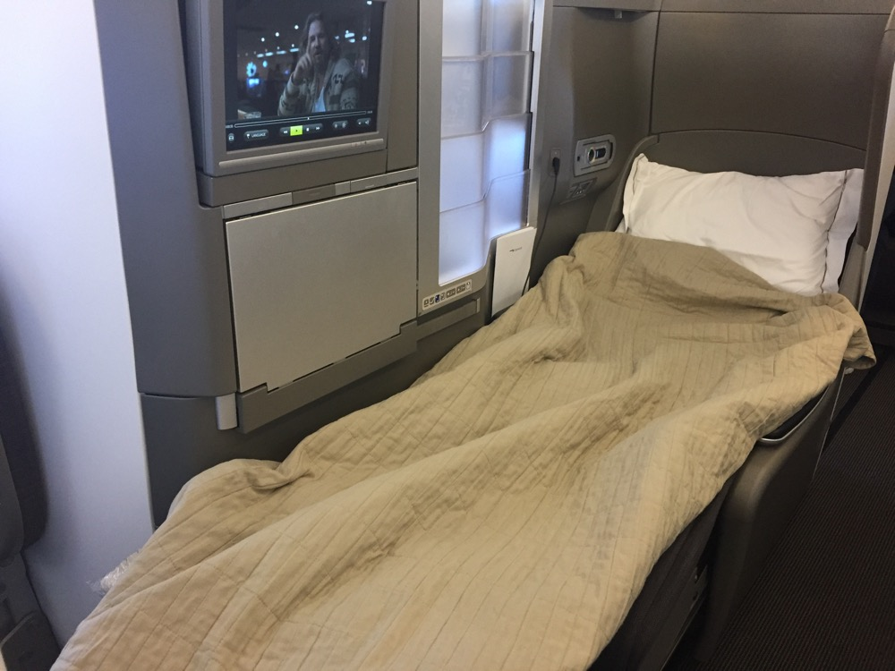 Review British Airways Club World Business Class A380