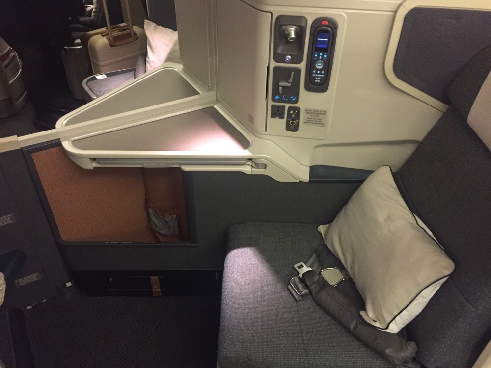 Review: Cathay Pacific Business Class 777-300ER Boston to ...