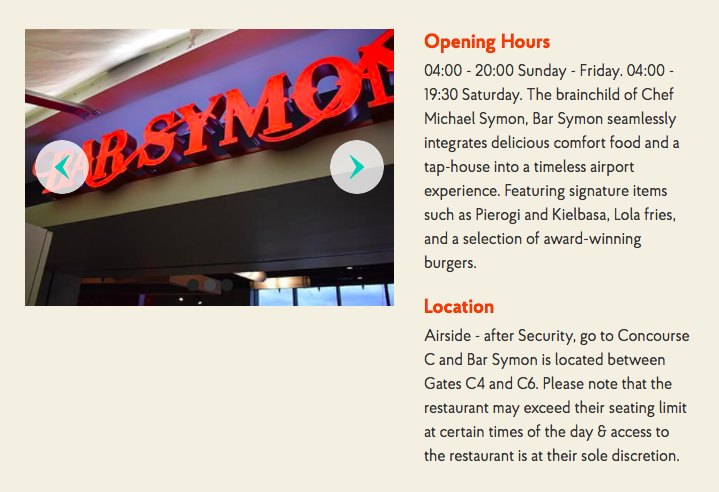 New Priority Pass Restaurant In Cleveland Bar Symon