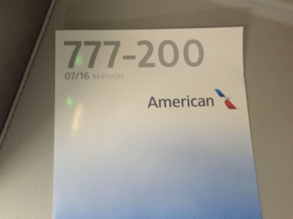 American Airlines Business Class 777-200 London to Chicago - 7 of 46