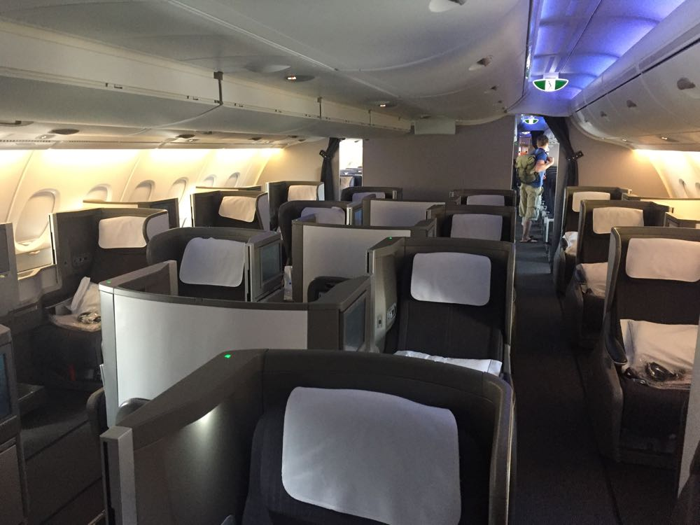 Review British Airways Club World A380 Lax Lhr Monkey Miles
