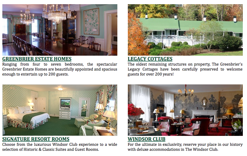 Fancy Famous Fantasy Friday - The Greenbrier