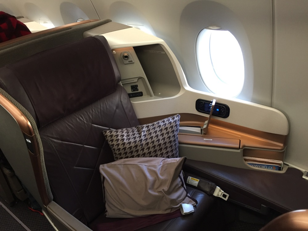 Singapore Airlines Business Class A350-900 MAN-IAH - 3 of 62