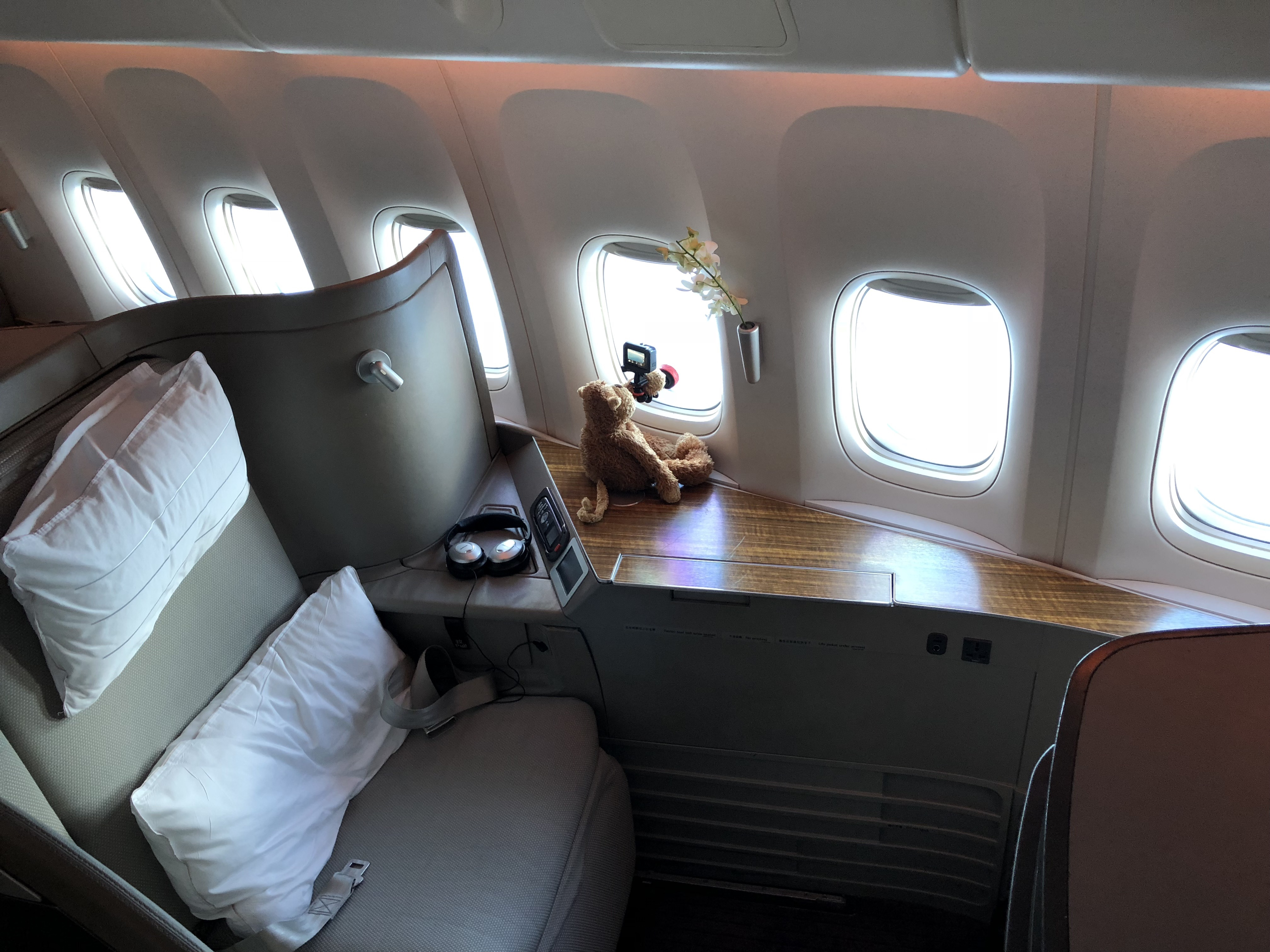 Review Cathay Pacific First Class 777 300er Hong Kong To