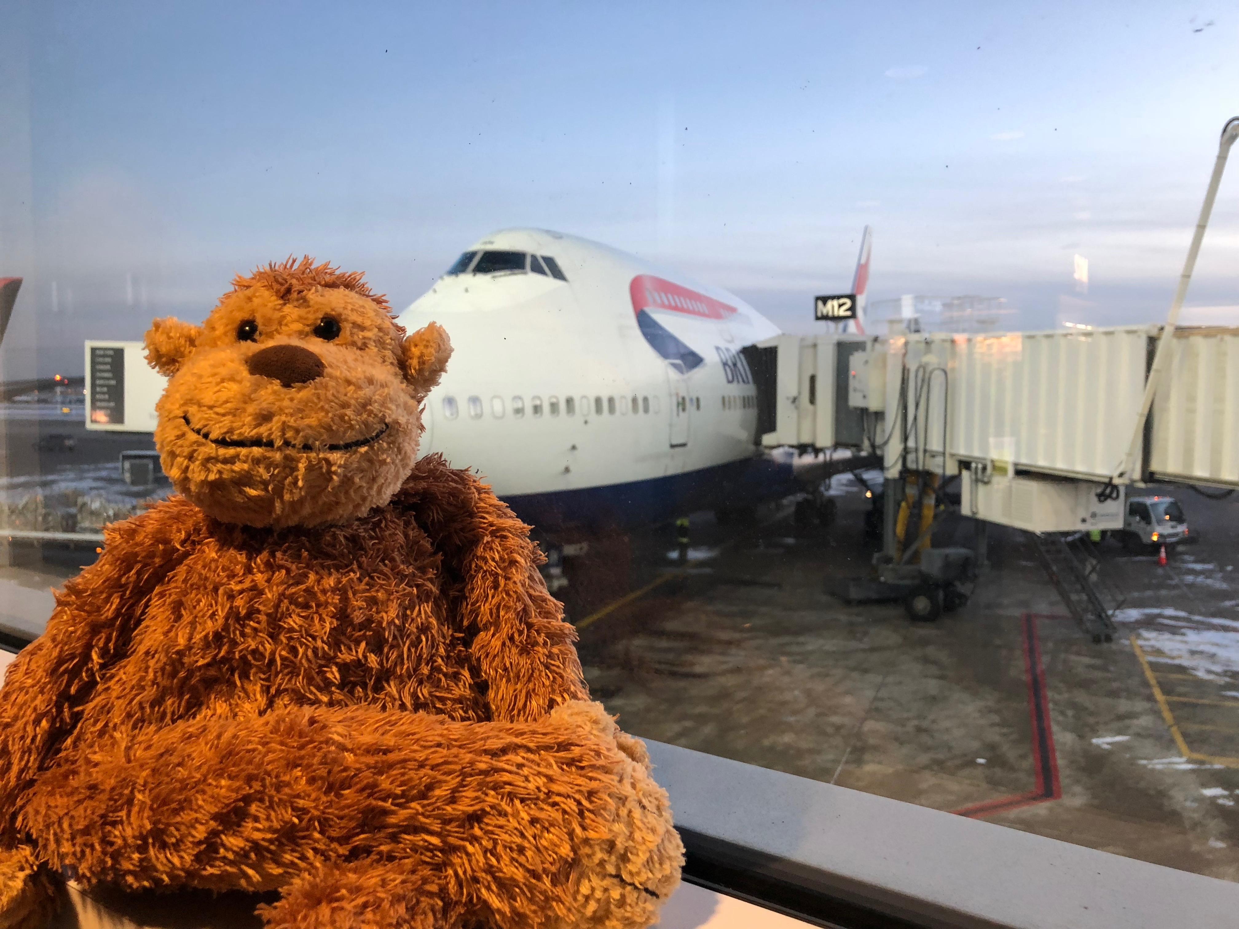 British Airways First Class 747-400