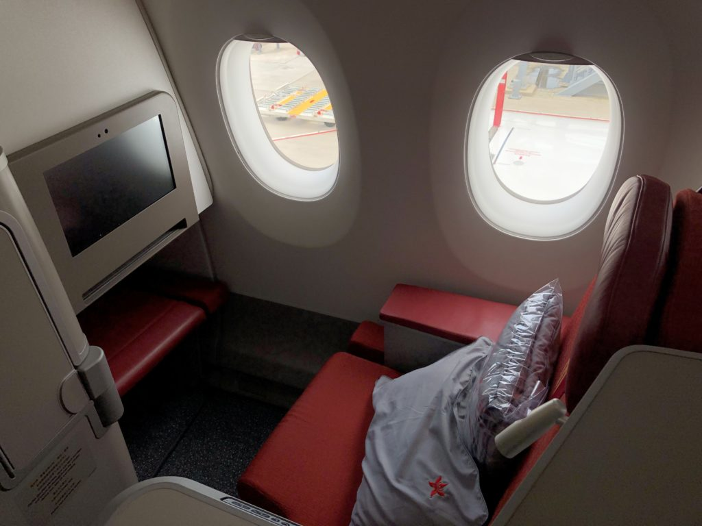 Hong Kong Airlines A350 business class